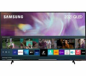 "SAMSUNG QE75Q60AAUXXU 75"" Smart 4K Ultra HD HDR QLED TV Alexa & Google Assistant"