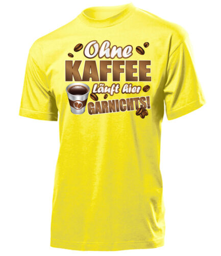 Funshirt-sans café ici fouillé partout t-shirt homme s-xxl