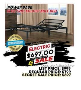 Electric Adjustable Bed Base **BRAND NEW FACTORY DIRECT** Hamilton Ontario Preview