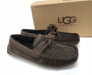 6aa53507afa Details about UGG Australia Men's Byron Slippers Cappucino Brown 5102 sizes  slip on shoes