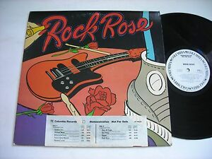 PROMO-Rock-Rose-Self-Titled-1979-Stereo-LP-VG-w-inserts