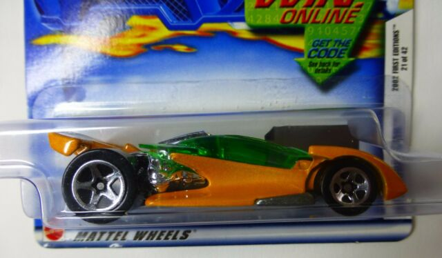 HOT WHEELS Car - Open Road-ster - Collector #033 - BNIP - year 2002