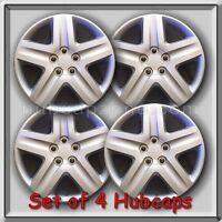Set 4 16 Silver Replica Chevy Chevrolet Impala Hubcaps 2006-2011 Wheel Covers