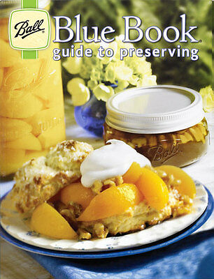 1 x Ball Mason Blue Book Guide to Preserving  500 Preserving / Canning Recipes