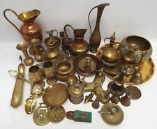 MIXED BUNDLE Brass Includes Goblets Candlesticks Bowls Ornaments - L48
