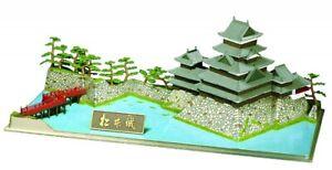 Doyusha-S24-101544-Japanisch-Matsumoto-Schloss-1-350-Massstab-Kunststoff-Set