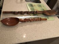 Extra Large Fork And Spoon Wall Decor from i.ebayimg.com