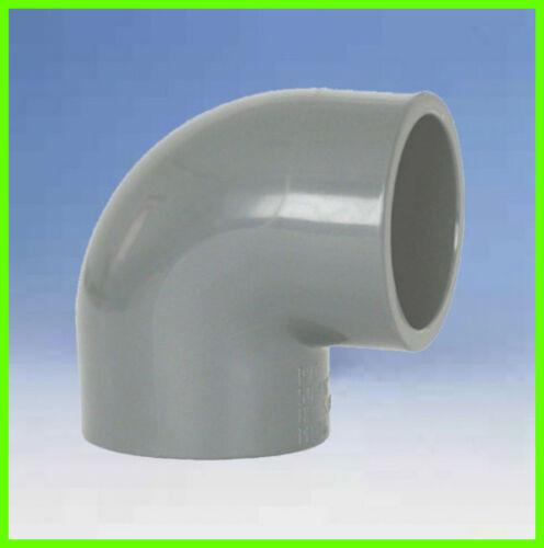 3 Stück 2 x Klebemuffe PVC Winkel 90° d =  16 mm