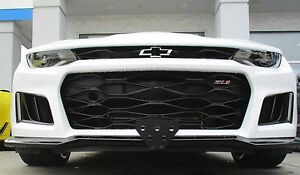 Image is loading 2017-2018-Chevy-Camaro-ZL1-Removable-Front-License- & 2017 - 2018 Chevy Camaro ZL1 - Removable Front License Plate Bracket ...