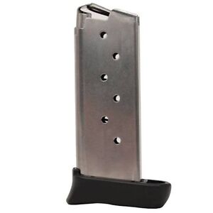 Sig Sauer P938 9mm Luger 7 Round SS OEM Magazine w/ Extension - MAG-938-9-7