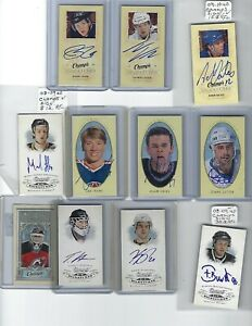 08-09-UPPER-DECK-CHAMPS-MINI-SIGNATURE-AUTOGRAPH-AUTO-TOBIAS-STEPHAN-STARS