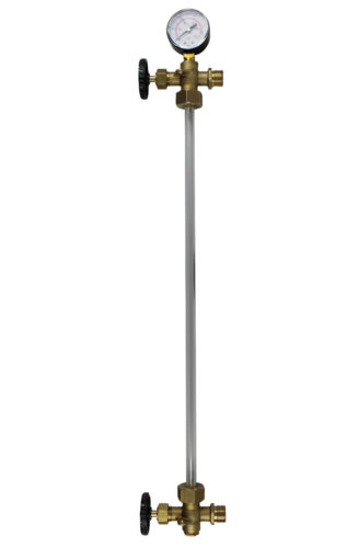"""Niveau d/'eau affichage /""""professionnel/"""" pour Heider-pression chaudière no 300-750 L = 700 MM"""