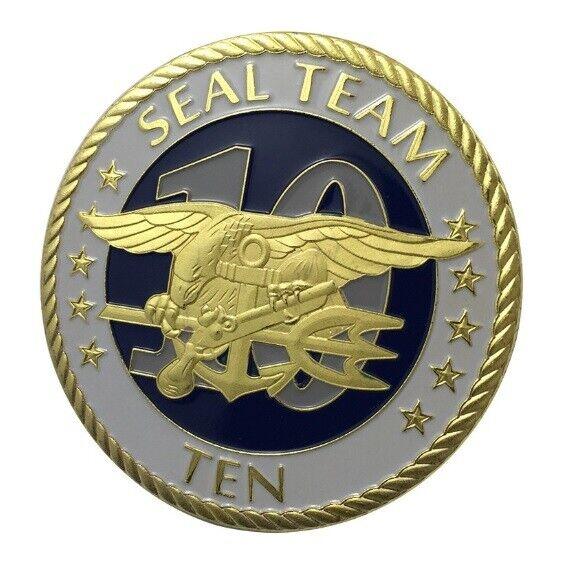 United States Navy USNSeal Team1 oz Silver Plated Bar U.S