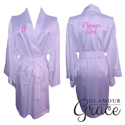 LILAC Children's Light Purple kids flower girl dressing gown robe bridesmaid
