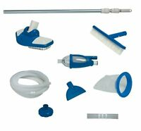 Intex Deluxe Cleaning Maintenance Swimming Pool Kit With Vacuum & Pole | 28003e on sale