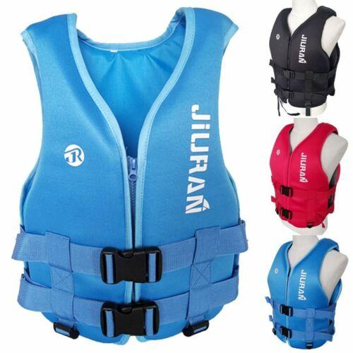 Adult//Kids Life Jacket Aid Vest Kayak Ski Buoyancy Fishing Water Sports Neoprene