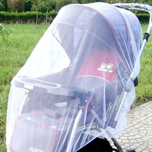 Praktisch Baby Kinderwagen Moskito Insekt Netz Abdeckung Mesh Pram Bassinet