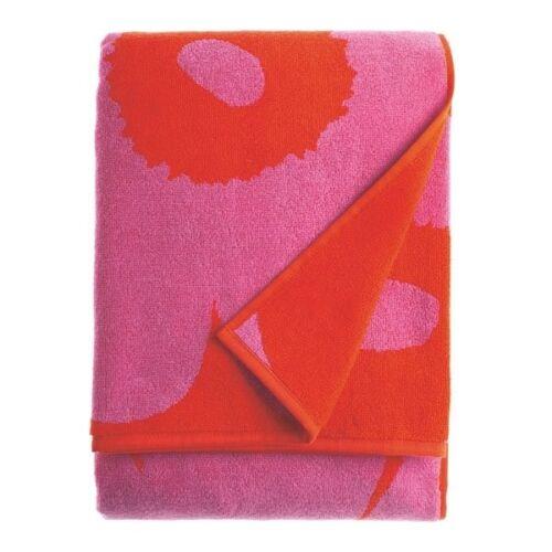 Marimekko Badetuch Unikko Rot-Pink