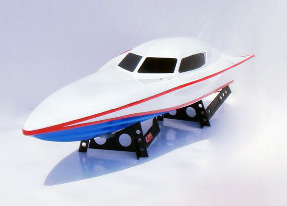 SALE R C Radio Control EP 7000 White Stealth Double Horse RS Racing RC Speedboat