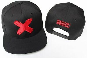 f4bab54e1 Details about BANNED X Retro 1 SNAPBACK HAT to match with Air Jordan 1  Retro 1 Red Bred Shoes