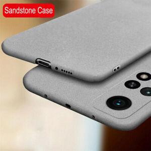 Per Xiaomi 11 10T Lite Mi 10 LIT 9T Note Arenaria MORBIDA IN SILICONE TPU Custodia Case Cover