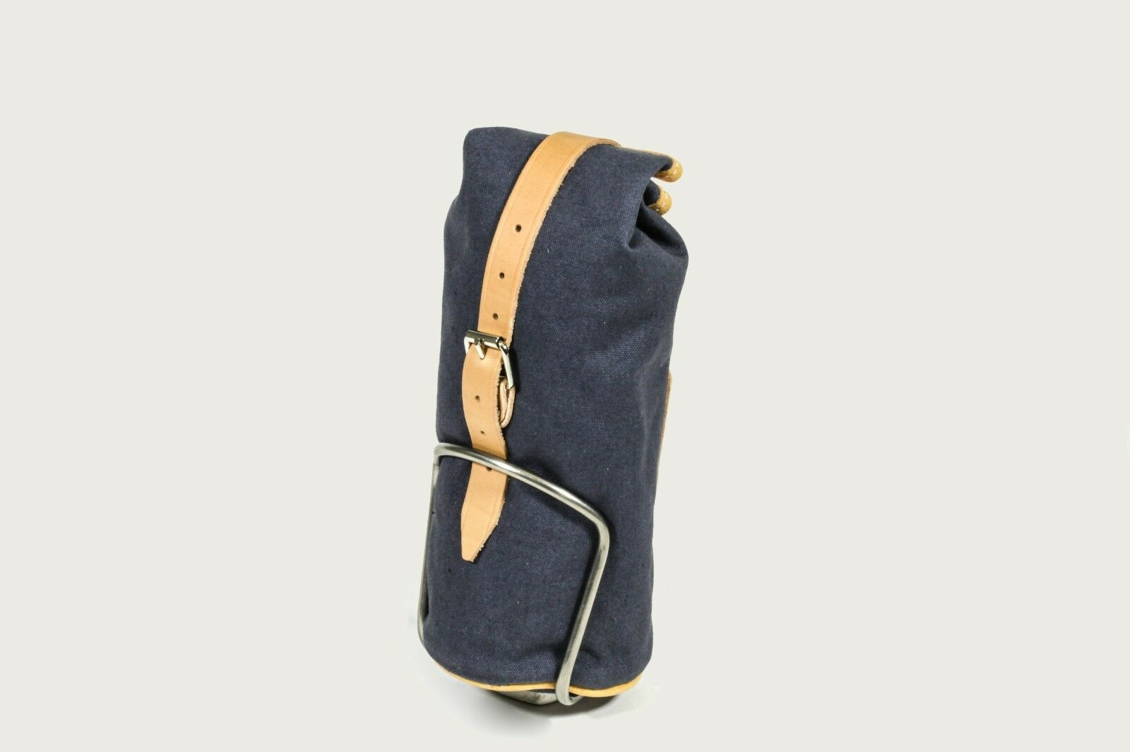 GILLES Berthoud Canvas & Leather bicicletta bottle cage Tool BagSaddle Bag GB116