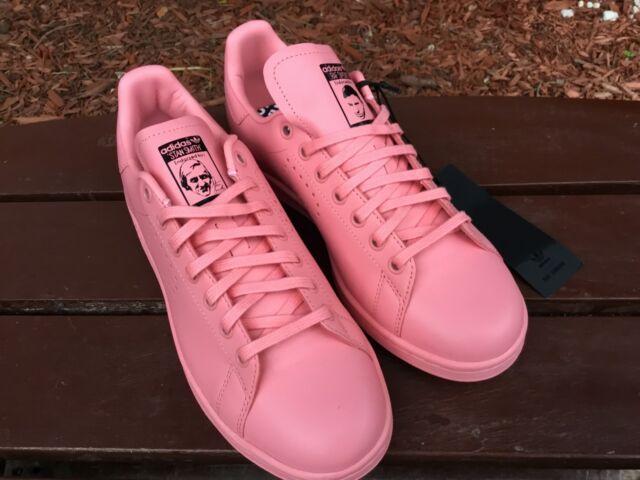 34574d53 Adidas RAF Simons Stan Smith Men's Shoes SNEAKERS Salmon Pink F34269 Size 8