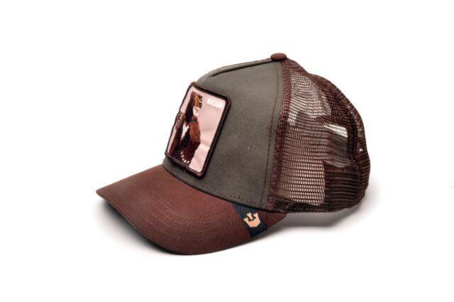 Goorin Bros. Animal Farm Trucker Hat adjustable mesh snapback baseball Cap b2f30bcdbe1f