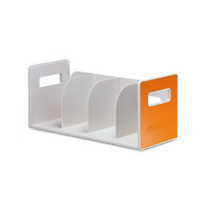 My Room Book Rack 4 Book Shelf Office Bookcase Home Book Stand Orange 42121