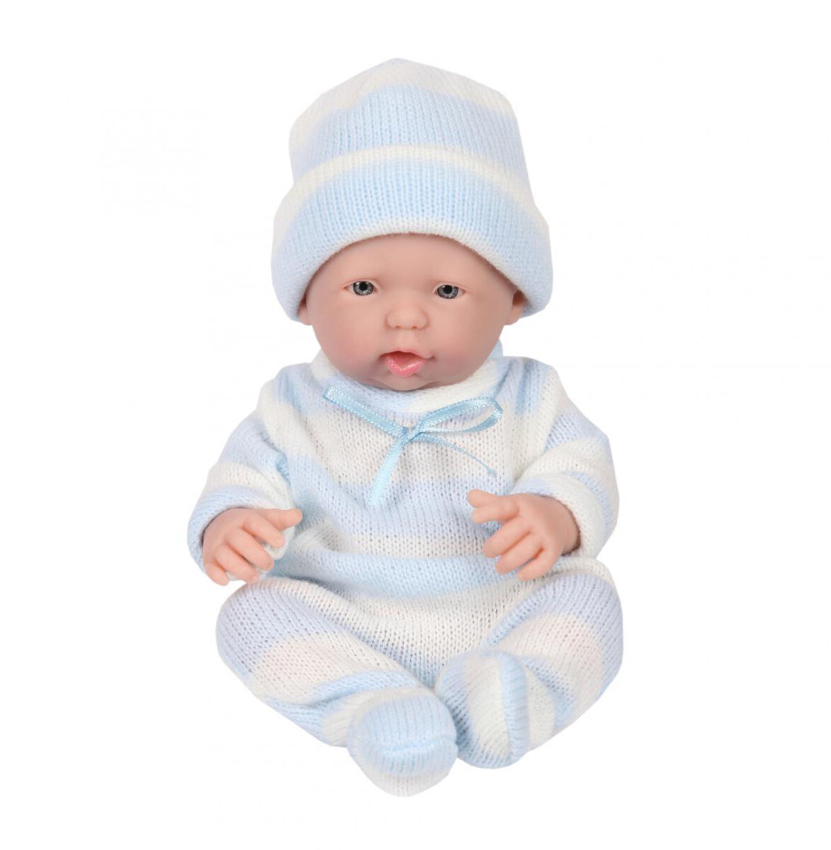 Jc Spielzeug Mini La Neugeborenes 24.1cm Berenguer Echt Boy mit Offenen Mouth
