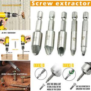 5Pcs-Mintiml-Screw-Easy-Out-Premium-Screw-Extractor-Set-Bolt-Drill-Bits