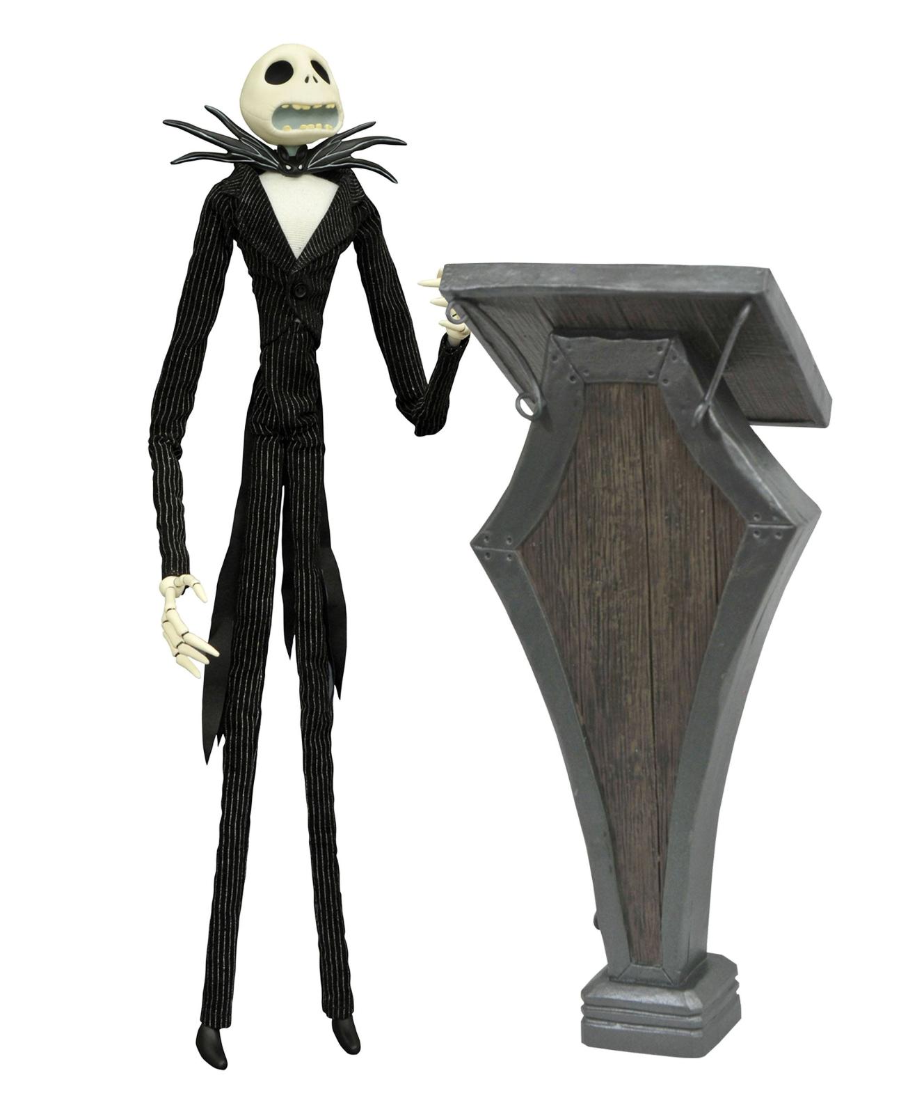 Nightmare Before Christmas Podium Jack Deluxe Coffin bambola Diamond