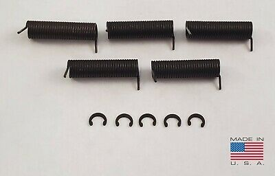 5X Ejection Port Cover Door Open Springs w// C-Clips      FREE TRACKING USA MADE