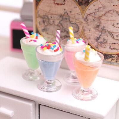 2 Cups Doll Kitchen BH 3Pcs//set 1:12 Dollhouse Miniature Juice Bottle