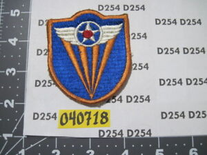 Details about ww2 wwii 4th ARMY AIR CORPS FORCE cut edge SSI insignia full  color patch