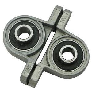 2Pcs-KP08-Zinc-Alloy-Diameter-8mm-Bore-Ball-Bearing-Pillow-Block-Mounted-Support