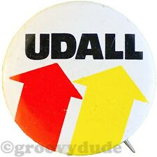 Lot of 9 Vintage 1976 President Mo Udall Political Campaign Pinback Buttons