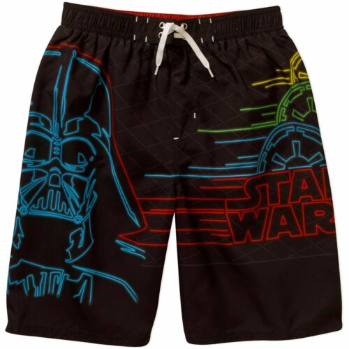 Star Wars Darth Vader Swim Trunks Shorts Boy Size 8 10//12