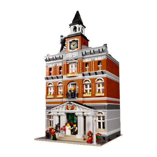 Com ›Sociedad ›envío rápido, mejor personalizado ayuntamiento compatible lego 10224 manual