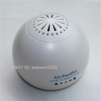 Portable Negative Ion Ionic Fresh Air Purifier Cleaner Ozone Generator car/home