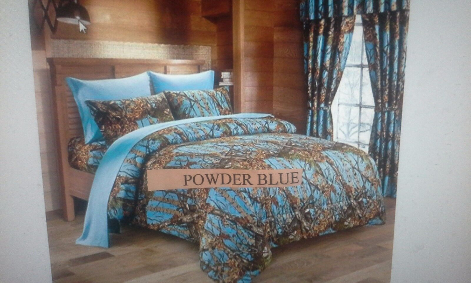 17 PIECE WOODS COMFORTER SET 15 COLORS   ALL SIZES