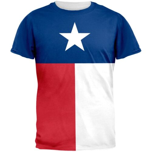 Texas Flag All Over Adult T-Shirt