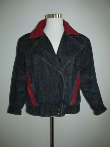 Vintage 80's Andy Johns Size M Oversized Denim Jea