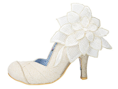 Gold High 3 Love Court Choice 9 Shoes Cream Sizes Bridal New Baby Irregular Heel FqUYwnXpUx