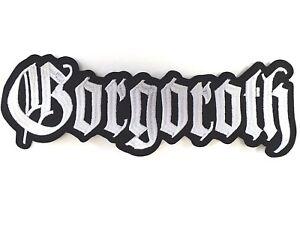 Gorgoroth-Bordado-Espalda-Parche