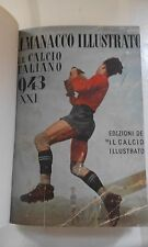 """Almanacco illustrato del calcio 1943 Ed. de """"il calcio illustrato"""" ORIGINALE"""