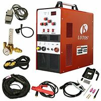 Lotos Tig200 200a Ac/dc Aluminum Tig/stick Welder Square Wave Inverter With