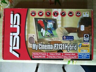 ASUS MY CINEMA-P7131 SE TV-TUNER TREIBER WINDOWS 8