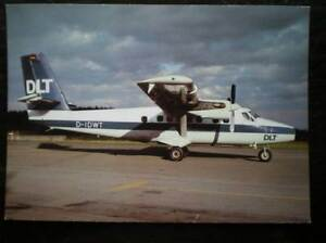 POSTCARD DE HAVILLAND DHC6 TWIN OTTER 300  AEROPLANE - Tadley, United Kingdom - POSTCARD DE HAVILLAND DHC6 TWIN OTTER 300  AEROPLANE - Tadley, United Kingdom