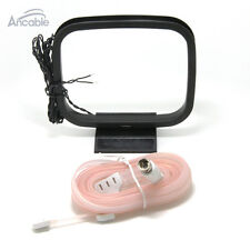 Ancable FM&AM antenna 75Ω FM antenna and AM Loop antenna for Onkyo AV receiver
